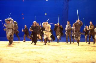 Gwiezdne Wojny - trylogia prequeli - zdjęcia z planu