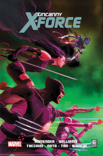 The Uncanny X-Force #03. Inny świat - okładka