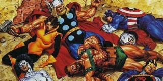 Under Siege - Baron Zemo doprowadził do tego, że najwięksi przeciwnicy Avengers stworzyli grupę Masters of Evil; atak na Avengers Mansion skończył się tragicznie dla wielu członków Mścicieli