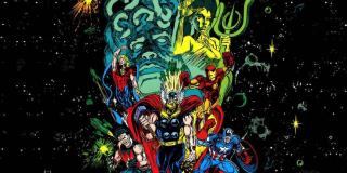 """Galaktyczny Sztorm - to wydany w 1992 roku sequel """"Wojny Kree ze Skrullami""""; Avengers raz jeszcze stali się częścią konfliktu Imperiów Kree i Shi'ar; doszło tu do poważnego rozłamu w szeregach Mścieli (frakcje skupiły się wokół Kapitana Ameryki i Iron Mana)"""