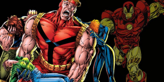 The Crossing - wielkim zaskoczeniem dla czytelników stało się ujawnienie, że w szeregach Avengers jest zdrajca; okazał się nim Tony Stark, który od lat potajemnie współpracował ze złoczyńcą Kangiem Zdobywcą