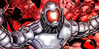 """Ultron Unlimited - historia była inspiracją dla filmowego """"Czasu Ultrona""""; złoczyńca urządził rzeź w Slorenii, tworząc jednocześnie całą armię wersji samego siebie"""