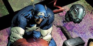 Disassembled - podzieleni Avengers raz jeszcze stają razem do walki, choć nieuchronna porażka na dobre rozerwie ich szeregi; wszystko przez zdradę ze strony Scarlet Witch
