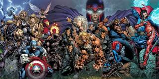Ultimatum - akcja rozgrywa się w świecie Ultimate; Magneto i jego Brotherhood of Evil Mutants przeprowadził atak na Nowy Jork, co poskutkowało licznymi ofiarami, także w szeregach Mścicieli