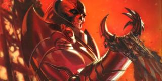 Axis - Mściciele i X-Men muszą tu powstrzymać Red Onslaughta, potężną istotę powstałą w wyniku połączenia Red Skulla i Profesora X; antagonista używa swoich mocy mentalnych, co skutkuje tym, że członkowie Avengers i mutanci zaczynają tracić swoje moralne kompasy