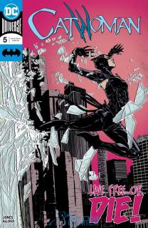 25. Catwoman #5 - 50 131 sprzedanych kopii