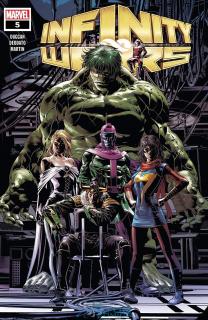 19. Infinity Wars #5 - 57 066 sprzedanych kopii
