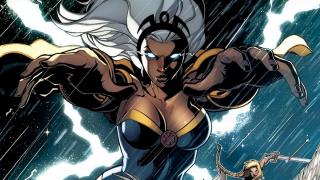 Ororo Munroe aka Storm - zwraca się uwagę, że w komiksach była ona żoną Czarnej Pantery