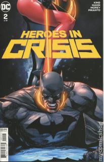 6. Heroes in Crisis #2 (DC) - 88 547 sprzedanych kopii
