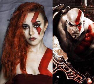 Star Nacho jako Kratos