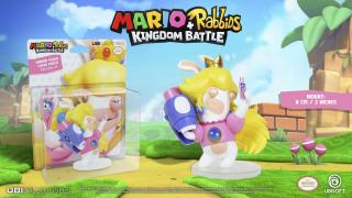 Mario + Rabbids: Kingdom Battle - figurka Rabbid Peach - cena 21,22 zł