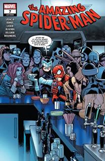 9. Amazing Spider-Man #7 (Marvel) - 83 013 sprzedanych kopii