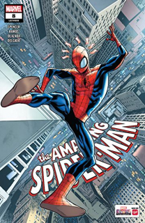 10. Amazing Spider-Man #8 (Marvel) - 82 833 sprzedane kopie