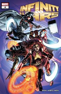 16. Infinity Wars #4 (Marvel) - 63 612 sprzedanych kopii