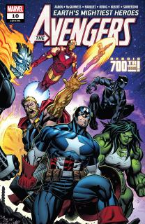 9. Avengers #10 - 77 715 sprzedanych kopii