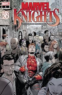 21. Marvel Knights 20th #1 - 52 116 sprzedanych kopii