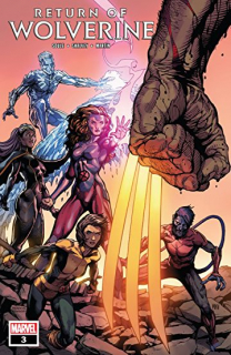 16. Return of the Wolverine #3 - 61 312 sprzedanych kopii