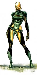 Heather Douglas aka Moondragon - była córką Arthura Douglasa znanego później jako Drax; gdy Thanos zabił całą rodzinę, ojciec Szalonego Tytana wskrzesił Heather jako nową bohaterkę, Moondragon; jedną z jej zdolności jest zamiana w smoka