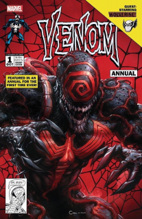 12. Venom Annual #1 (Marvel) - 75 032 sprzedane kopie