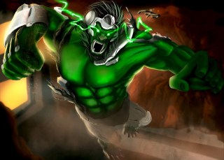 Hulk jako postać z gry Overwatch