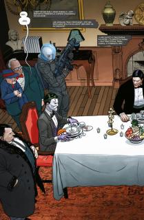 Batman #04. Wojna Żartów z Zagadkami - plansza