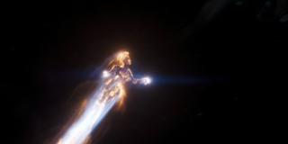 To ujęcie może pochodzić z samego końca filmu, gdy Carol w swojej kosmicznej formie wyruszy zaprowadzać pokój w całym uniwersum