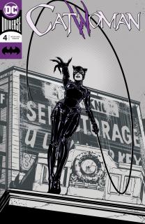 14. Catwoman #4 (DC) - 72 130 sprzedanych kopii