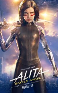Alita: Battle Angel - plakat