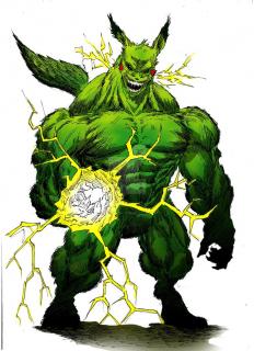 Hulk jako Pikachu