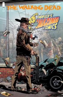 2. Walking Dead #1 - reprint wydania na 15. rocznicę (Image Comics) - 106 090 sprzedanych kopii