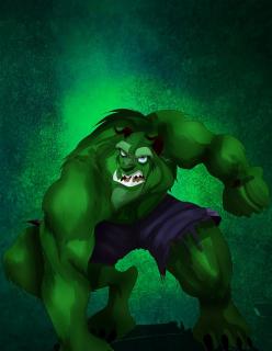 Hulk jako Bestia