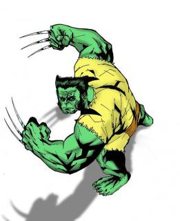 Hulk jako Wolverine