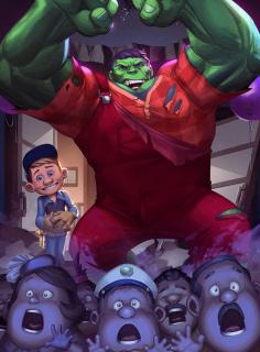 Hulk jako Ralph Demolka