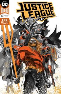 8. Justice League #10 (DC) - 84 179 sprzedanych kopii