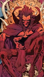 Mefisto - jeden z najwiekszych złoczyńców w świecie Marvela, od lat dający się we znaki różnym herosom