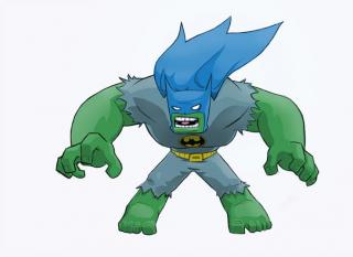 Hulk jako Batman