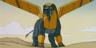 """Placówka w Kairze - tutaj może przebywać Sfinks (w 2007 roku pojawił się on w grze """"Godzilla) lub przypominający go wyglądem Norzzug"""