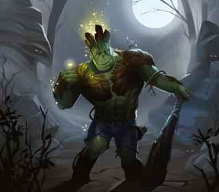 Hulk jako Groot