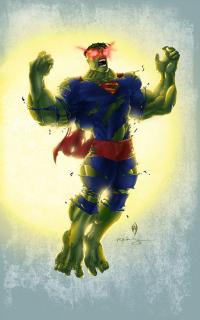 Hulk jako Superman