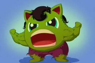 Hulk jako Jigglypuff