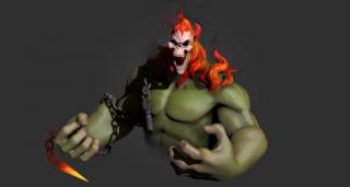 Hulk jako Ghost Rider