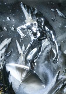 Norrin Radd aka Srebrny Surfer - Radd jako jedyny mieszkaniec przeciwstawił się Galactusowi, który napadł na planetę Zenn-La; najeżdźca darował mu w życie w zamian za to, że ten zostanie jego posłańcem; po spotkaniu z Fantastyczną Czwórką Srebrny Surfer zbuntował się jednak i opuścił swojego pana