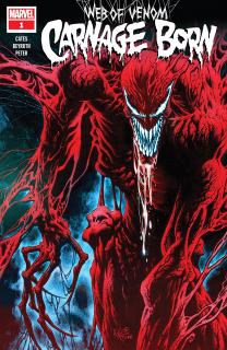 3. Web of Venom Carnage Born #1 - 104 289 sprzedanych kopii