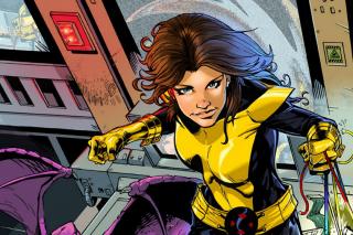 Kitty Pryde aka Shadowcat - tradycyjnie przedstawiana jako 13-latka, potrafi przechodzić przez ciała stałe; jedna z najbardziej lubianych postaci komiksowych