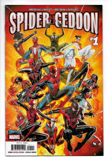 3. Spider-Geddon #1 (Marvel) - 104 899 sprzedanych kopii