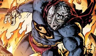 """W czasie pojedynku Supermanów słyszymy słowa """"Hej, Bizarro!""""- to oczywiście nawiązanie do ikonicznego przeciwnika Supermana"""