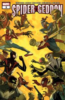 23. Spider-Geddon #3 - 51 546 sprzedanych kopii