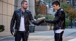 Oliver i Barry pojawiają się jako bliźniacy Trigger - ich współczesna wersja w komiksach to Tom i Tad, którzy rozmiłowali się we wspólnym napadaniu na banki