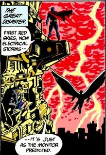 Ekwiwalentem dla Księgi Przeznaczenia w komiksach może być książka widoczna w Final Crisis - to ją czytali Superman i Ultraman