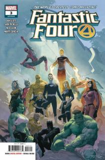12. Fantastic Four #3 - 72 597 sprzedanych kopii